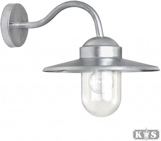 Außenwandlampe Dolce - Aluminium - Silber - KS Verlichting kaufen ...